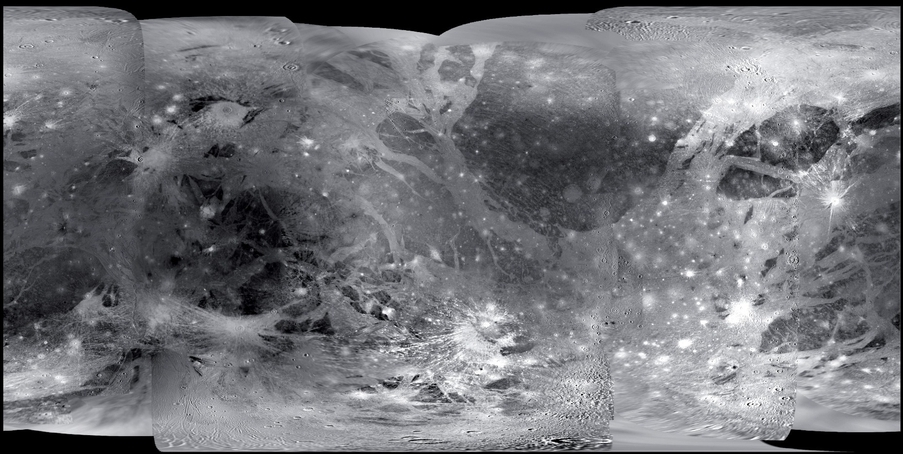 Map of Ganymede